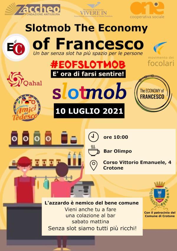 images Anche il bar l'Olimpo di Crotone aderisce all'iniziativa nazionale EOF SLOTMOB