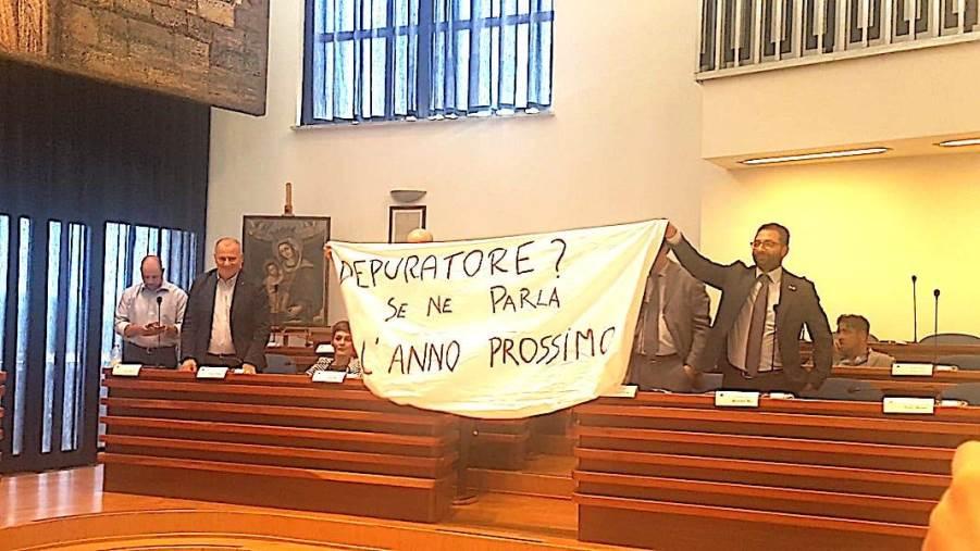 """images L'opposizione sul depuratore di Catanzaro: """"Il Comune è contraddittorio"""""""