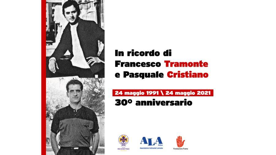 images Lamezia Terme. Il ricordo del 24 maggio di Tramonto e Cristiano, vittime della 'ndrangheta