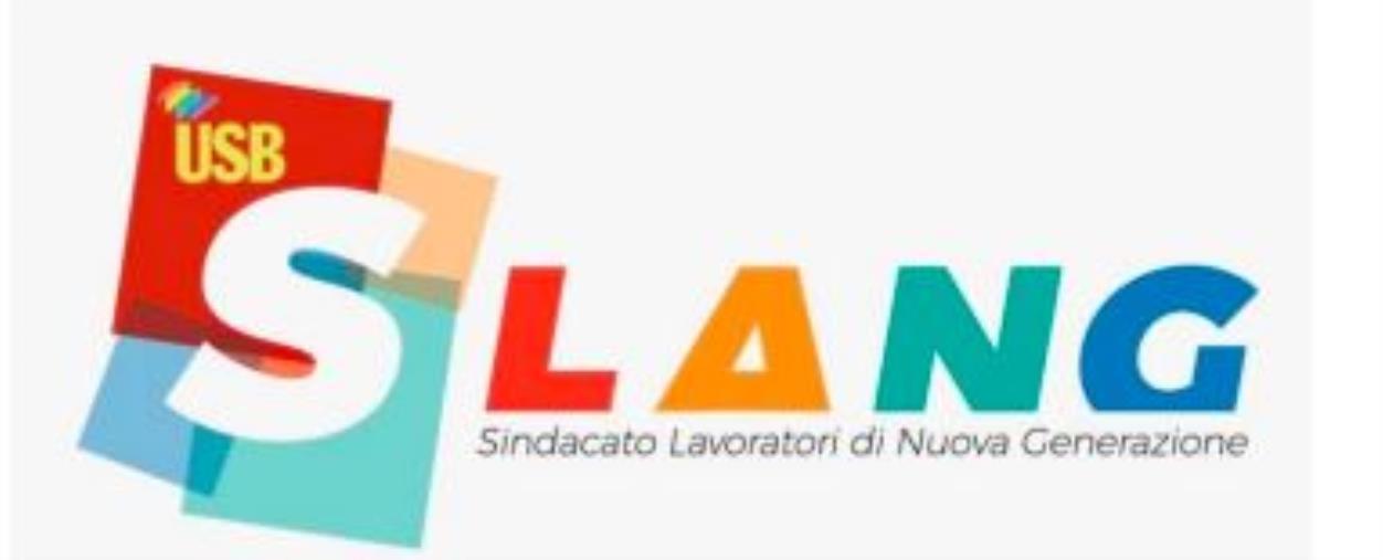 """images Slang Usb: """"L'Asp di Catanzaro predisponga il piano di vaccinazione per liberi professionisti in ambito sanitario"""""""