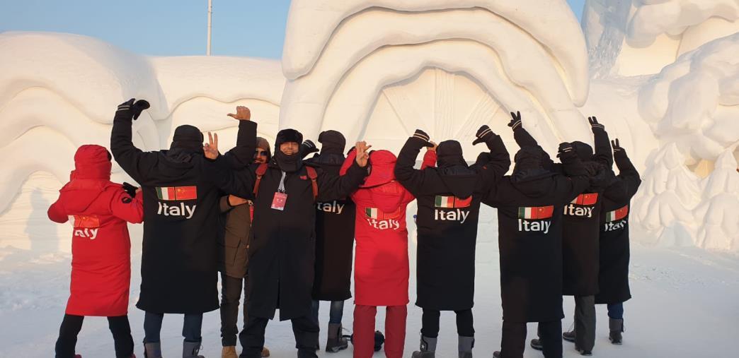 """images """"Harbin Ice and Snow Sculpture Festival"""", la delegazione Italiana torna dalla Cina con importanti novità per la Calabria"""