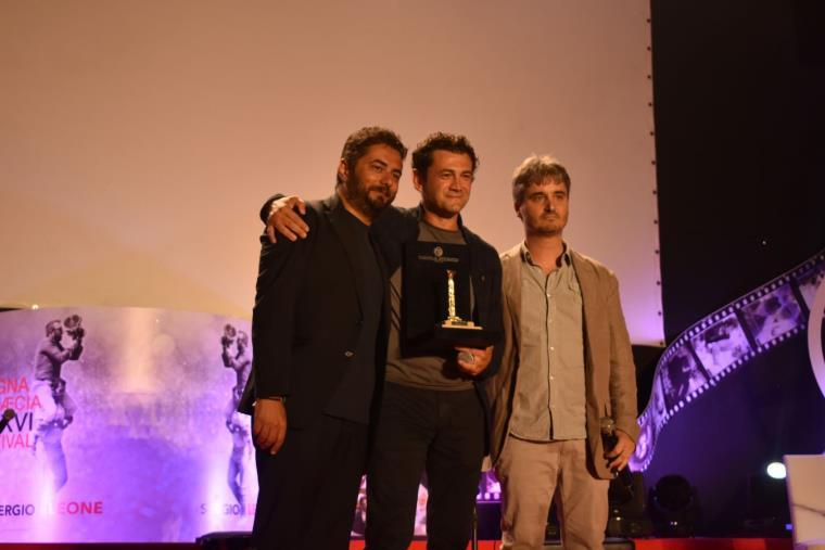 """images MGFF: presentato l'ultimo film in concorso """"Il grande salto"""", premiati Teresa De Sio e Vinicio Marchioni"""