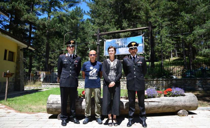 images Parchi: Sila, ambasciatrice Norvegia a Roma in visita all'area
