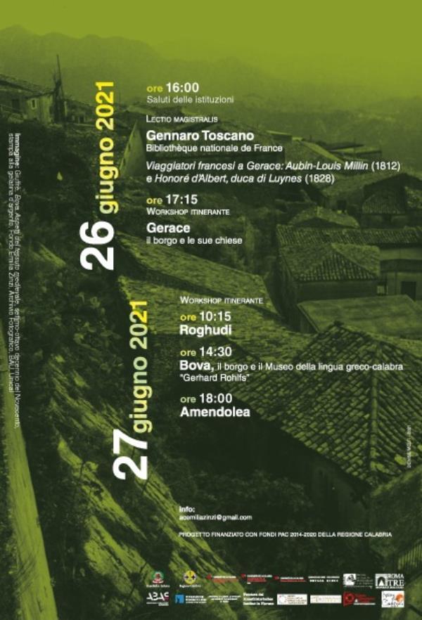 """images Paesaggio storico e fotografia. Gerace, Roghudi, Bova e Amendola: workshop organizzato dall'associazione """"Emilia Zinzi"""""""