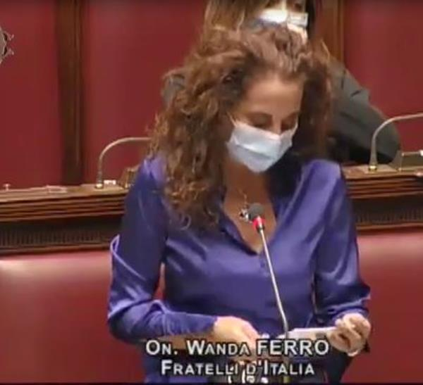 """images Wanda Ferro (FDI): """"Infrastrutture, il recovery plan rischia di essere un'occasione persa per il Sud"""""""