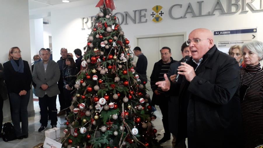 """images Il commiato di Oliverio nella Cittadella regionale: """"Dobbiamo continuare ad avere fiducia"""" (VIDEO)"""