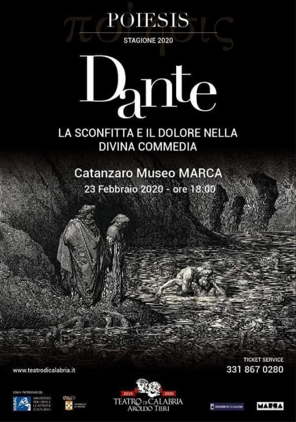 images La Divina Commedia in scena il 23 febbraio al Marca di Catanzaro con il Teatro di Calabria