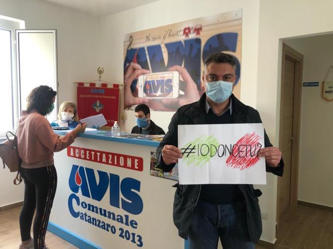 images Calo donazioni di sangue, il consigliere comunale Demetrio Battaglia lancia l'hastag #iodonoetu?