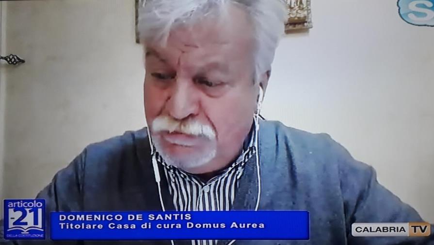 """images Coronavirus.  Domus Aurea, il """"diario dell'emergenza"""" in un esposto in Procura: 42 anziani da salvare a Chiaravalle Centrale"""