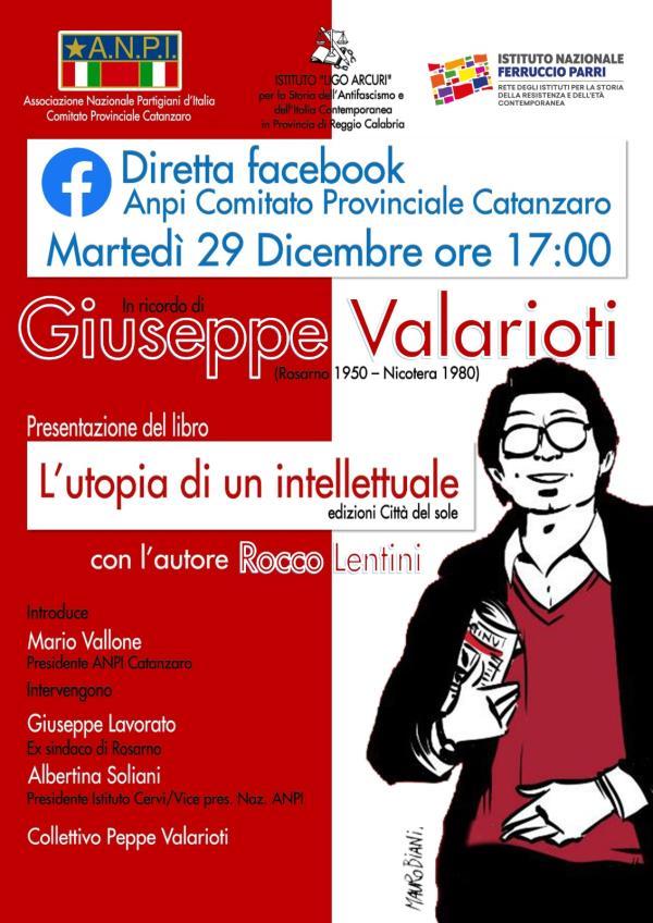 """images """"L'utopia di un intellettuale"""". L'evento in diretta facebook presentato dall'Anpi"""