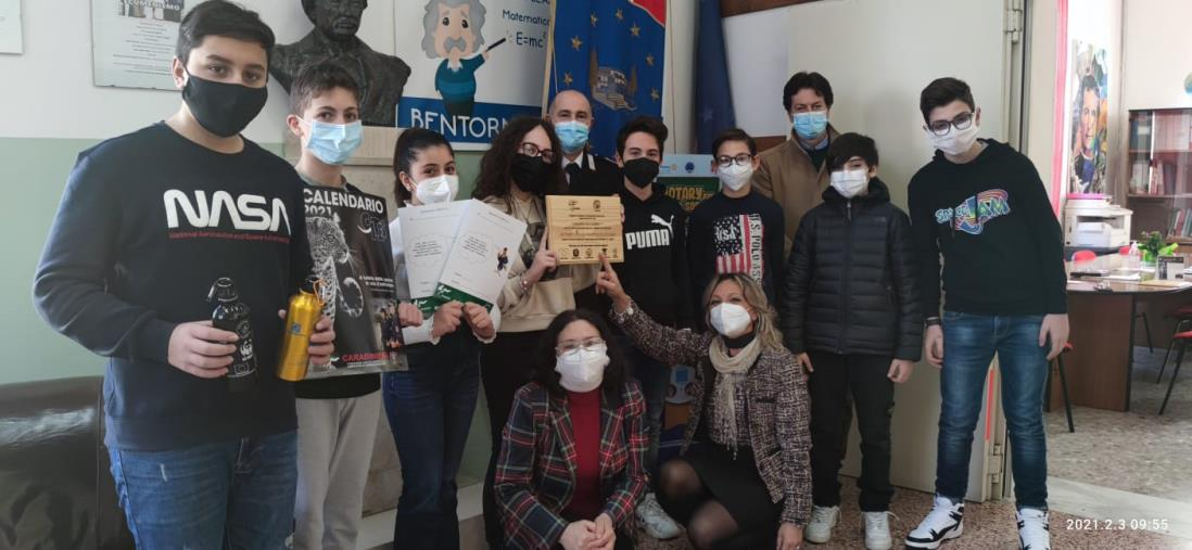 """images All'Ic """"Pascoli"""" di Catanzaro cerimonia finale del progetto con i Carabinieri della biodiversità"""