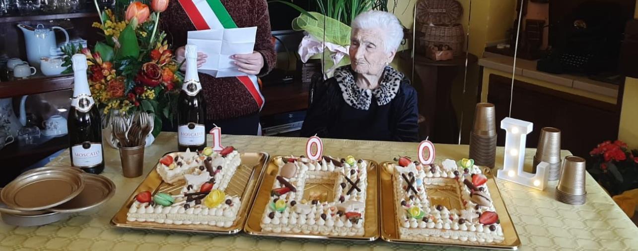 """images Petronà dice addio a """"nonna"""" Letizia, 101 anni"""