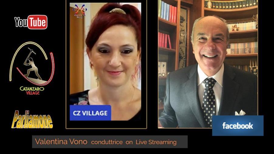 "images ""Parliamone"", Catanzaro Village incontra Franco Cimino"