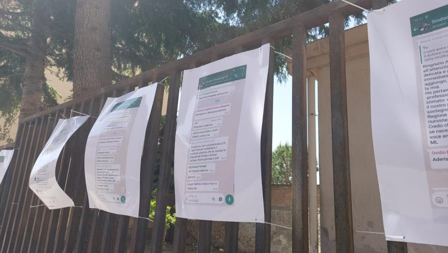 images Sant'Anna Hospital. Alle porte dell'Asp di Catanzaro spunta la chat con il sostegno dei sindaci di Vibo (FOTO)