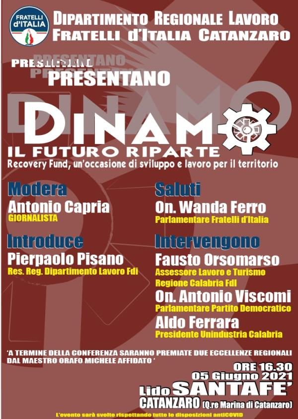 """images Domani al Santafè """"Dinamo! Il Futuro Riparte"""": dibattito organizzato da Fratelli d'Italia"""