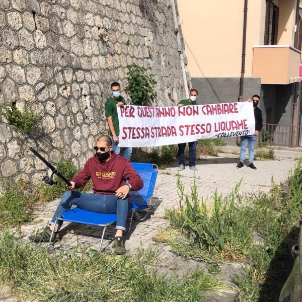 """images Catanzaro. Ancora incuria in via Stretto Cappuccini, Collevento: """"La situazione peggiora nel silenzio delle istituzioni"""""""