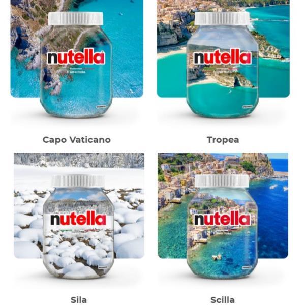 """images """"Ti amo Italia"""", il contest di Nutella che vuole anche la Calabria sui vasetti limited edition"""