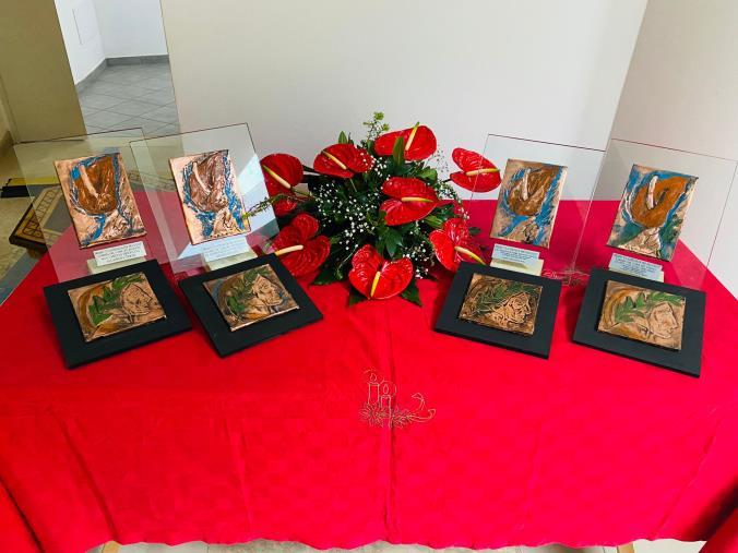 """images Conclusa a Lamezia la II edizione di """"Anthurium nel cuore"""" dedicata a Dante: sul podio Filippo D'Andrea e il regista Paonessa"""