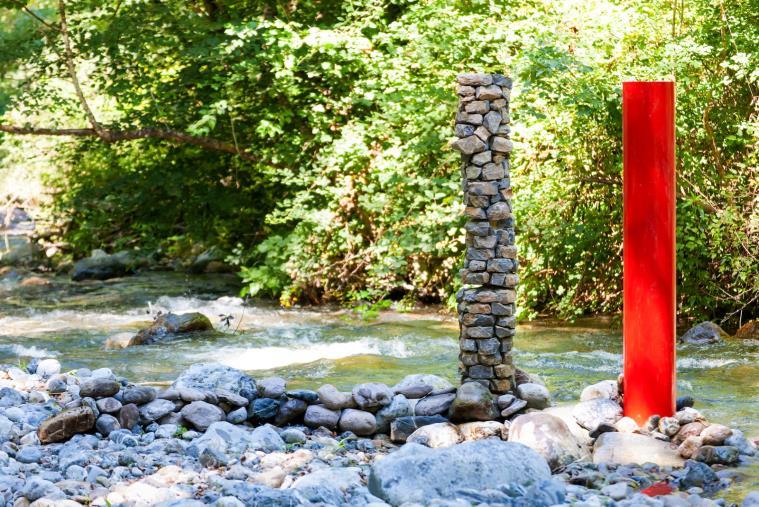 """images Orsomarso. Arte, nella Valle dell'argentino inaugura """"Idros - La natura delle acque"""""""