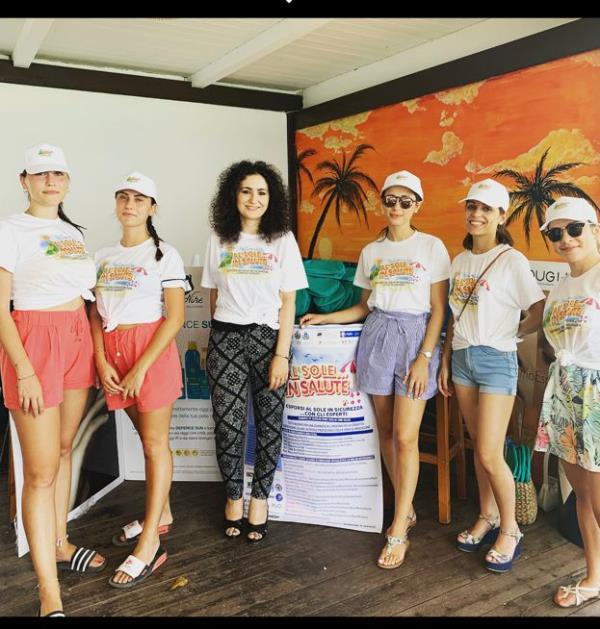 """""""Al sole...in salute"""", anche a Squillace la giornata dedicata all'abbronzatura in sicurezza promossa dagli esperti"""