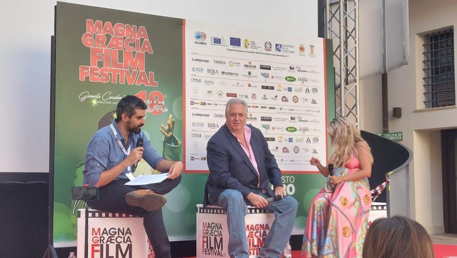 images MGFF. Il premio Oscar di origini calabresi, Nick Vallelonga, apre il ciclo di Masterclass al San Giovanni