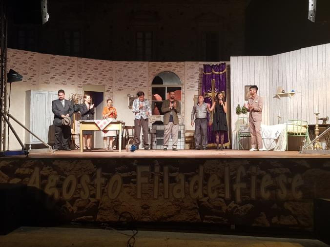 images Agosto Filadelfiese. Teatro, Sul palco anche la compagnia lametina Vercillo