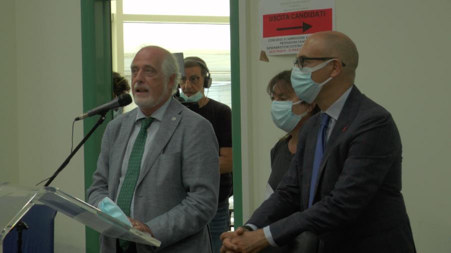 """images UMG. Stabilizzati 26 dipendenti e presentata l'offerta formativa, De Sarro: """"815 posti in più"""""""