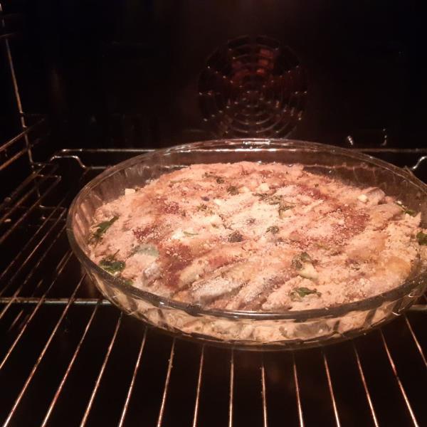 images Calabria in tavola. Il tortino di alici al forno: un piatto povero e semplice, ma ricco di tradizioni marinare