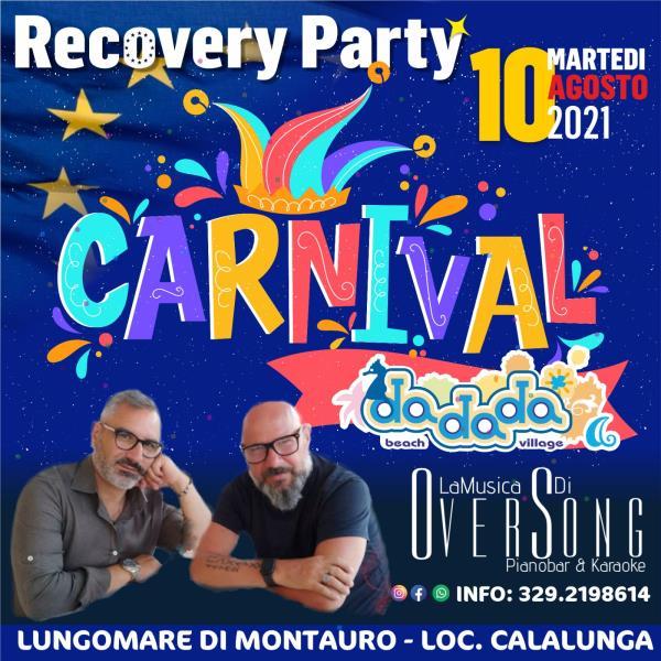 """images Domani al Da da da beach village di Montauro è festa con il """"Carnival"""""""