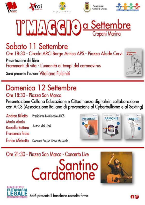 """images Cropani. Tutto pronto per l'iniziativa """"Primo Maggio a Settembre"""". Due gli appuntamenti previsti"""