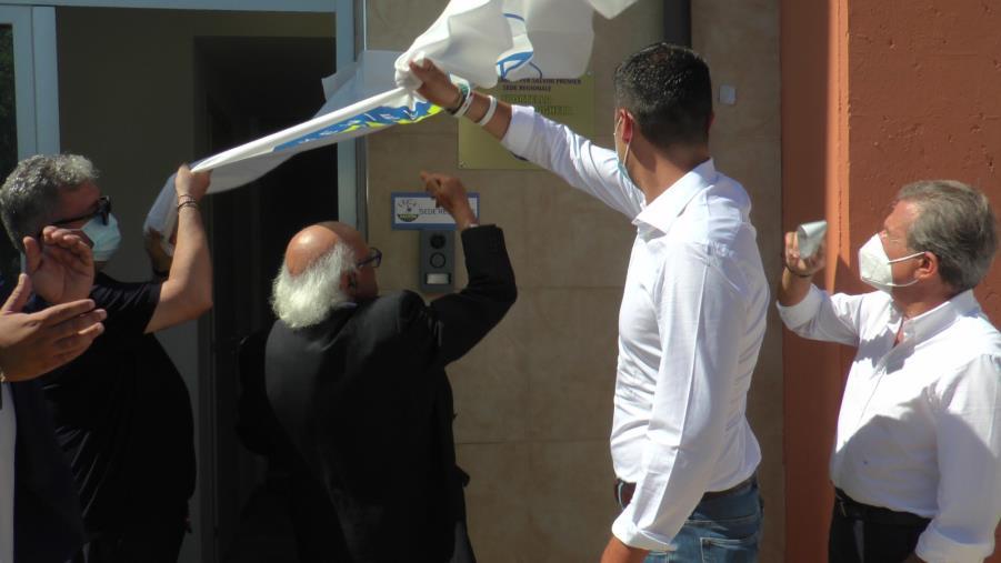 """images Catanzaro. Inaugurato lo sportello della Lega contro la 'ndrangheta. Saccomanno: """"Un riferimento per gli imprenditori vessati"""""""