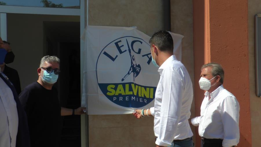 images Inaugurato lo sportello anti 'ndrangheta della Lega Calabria