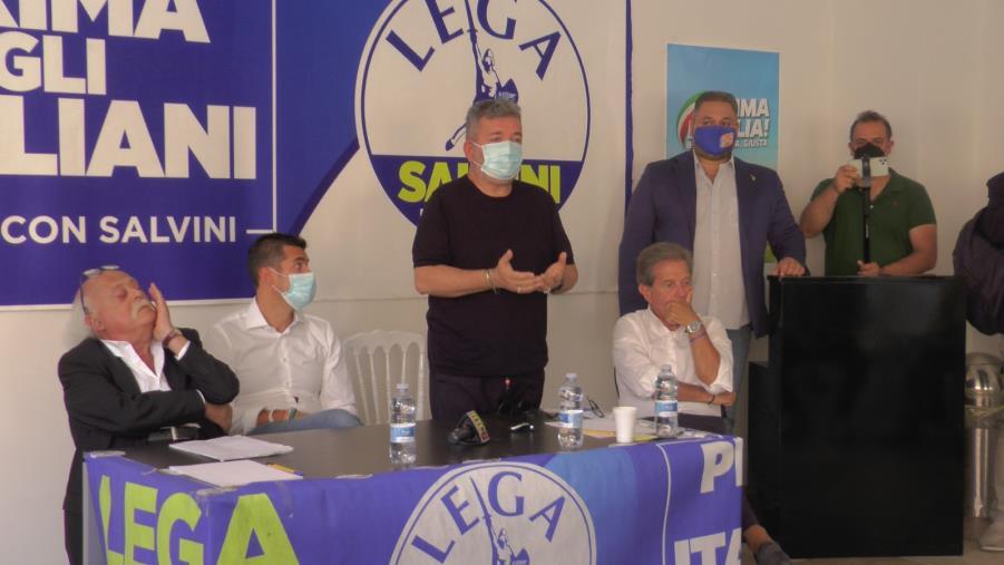 """images Regionali. Crippa (Lega): """"L'obiettivo è essere il primo partito in Calabria"""""""