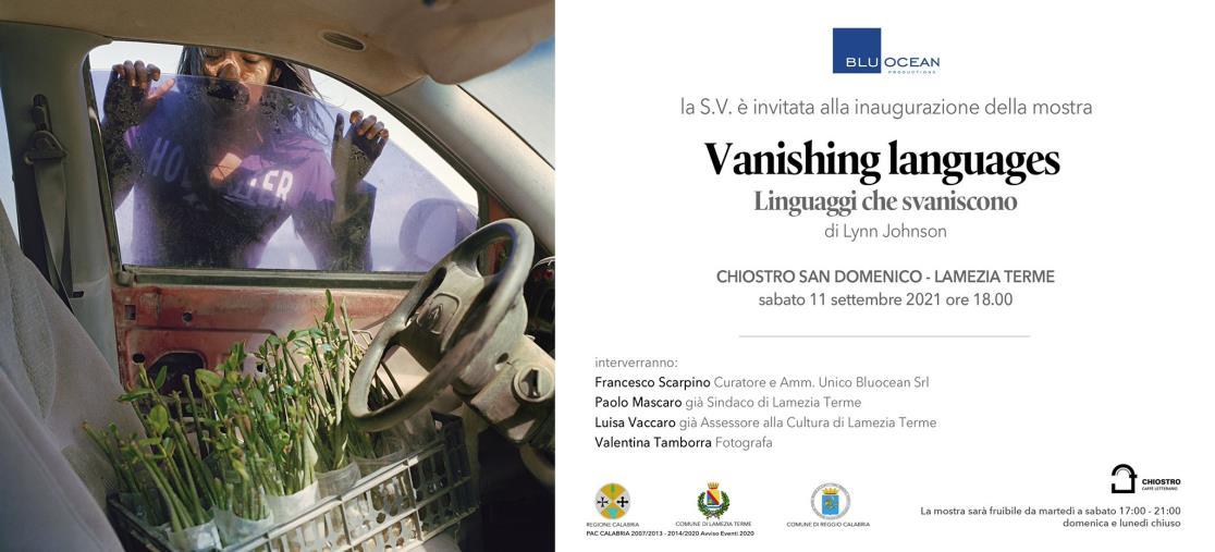 "images Lamezia Terme. Fotografia, sabato inaugura ""Vanishing Languages"", la mostra di Lynn Johnson"