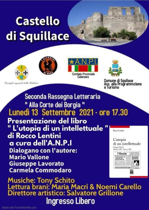 images Squillace. Appuntamento al Castello il 13 e il 15 settembre con i libri di Rocco Lentini e don Giacomo Panizza