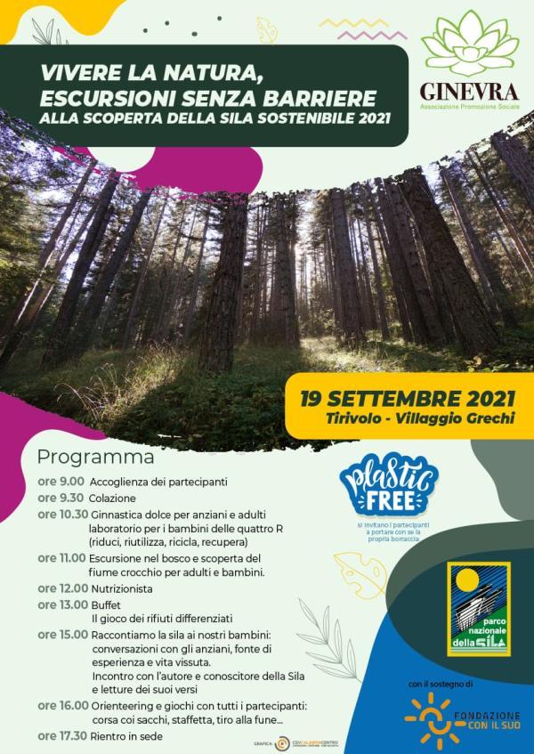images Cropani. Una domenica dedicata all'inclusione e alla natura con l'associazione Ginevra: appuntamento in Sila per il 19 settembre