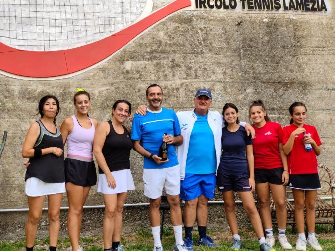 Tennis Lamezia. La squadra femminile conquista per la prima volta la serie C