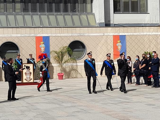 images Cambio al Comando della Legione Calabria: arriva il generale Salsano. Dopo due anni l'arma saluta Paterna