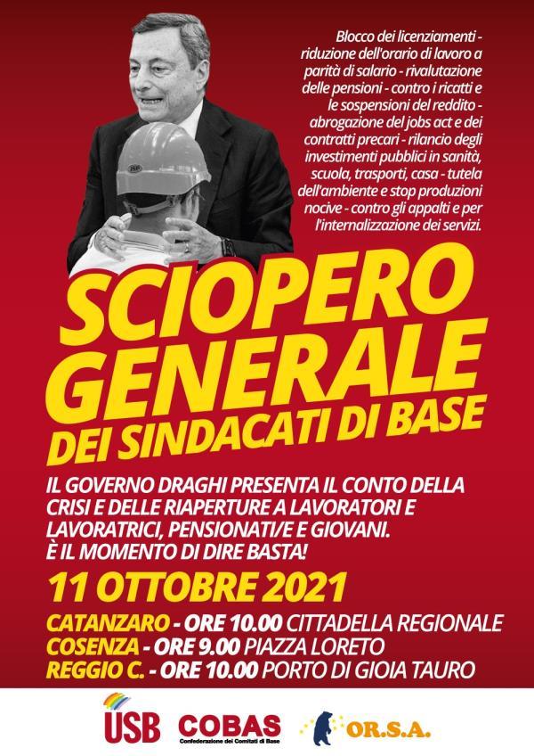 images Sciopero generale dei sindacati di base: aderisce anche Potere al Popolo Calabria