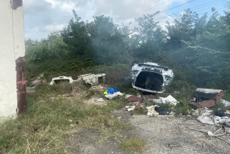 images Discarica abusiva a Rosarno: sequestrata dai carabinieri un'area di 17mila mq