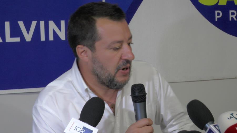 """Salvini sul ticket Occhiuto-Spirlì: """"Non sono affezionato alle etichette"""""""