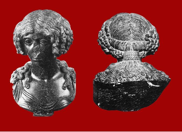 images Busto femminile in basanite torna al museo di Vibo Valentia, testimonianza del passato romano della Calabria