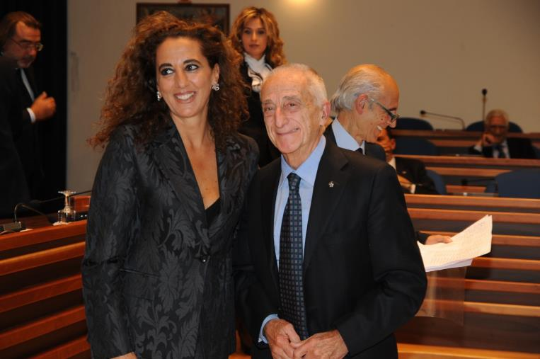 """images Addio a Geppino Martino. Wanda Ferro: """"Ho sempre ammirato la sua profonda cultura, il suo carattere signorile e schietto"""""""
