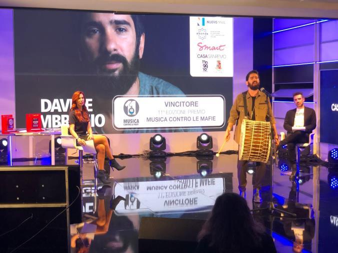 """images """"Musica contro le Mafie"""", premiata la musica socialmente impegnata con le creazioni di Antonio Affidato"""