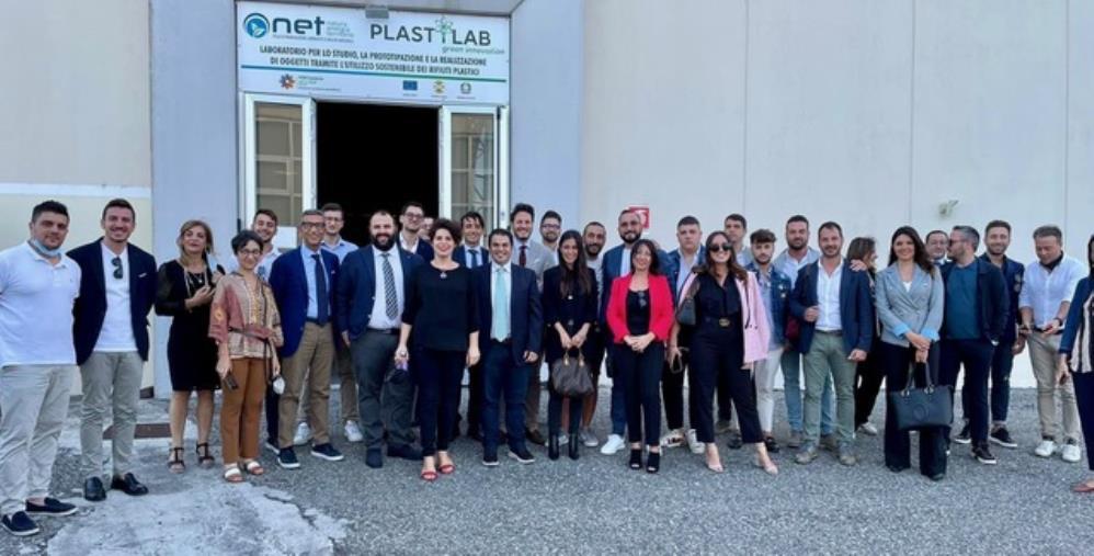 images I giovani imprenditori di Unindustria Calabria in visita al Polo Net di Crotone