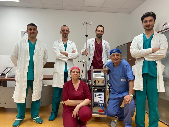 images Il reparto Anestesia e Rianimazione dell'Aou Mater Domini riconosciuto centro Ecmo regionale e riferimento per le gravi insufficienze respiratorie
