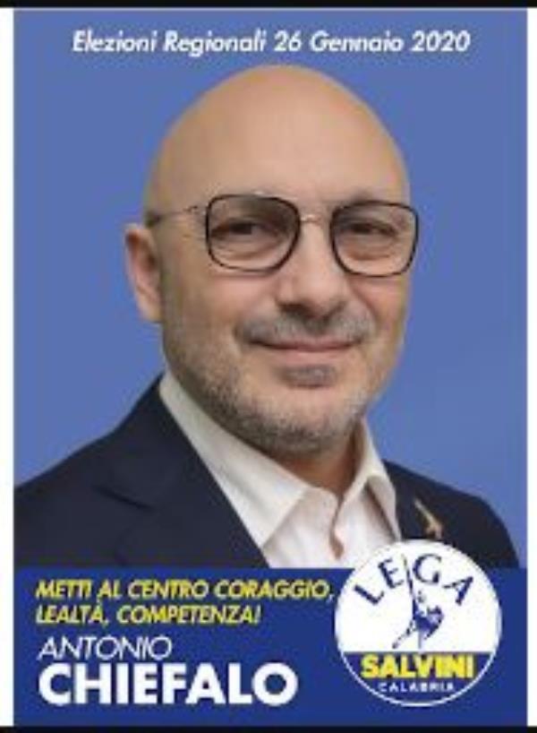 images La Lega nomina Antonio Chiefalo coordinatore a Catanzaro ed aree limitrofe