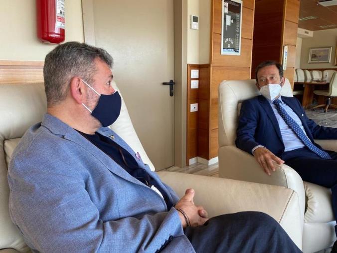 """images Visita ambasciatore tedesco Elbling. Spirlì: """"Cooperazione possibile"""""""