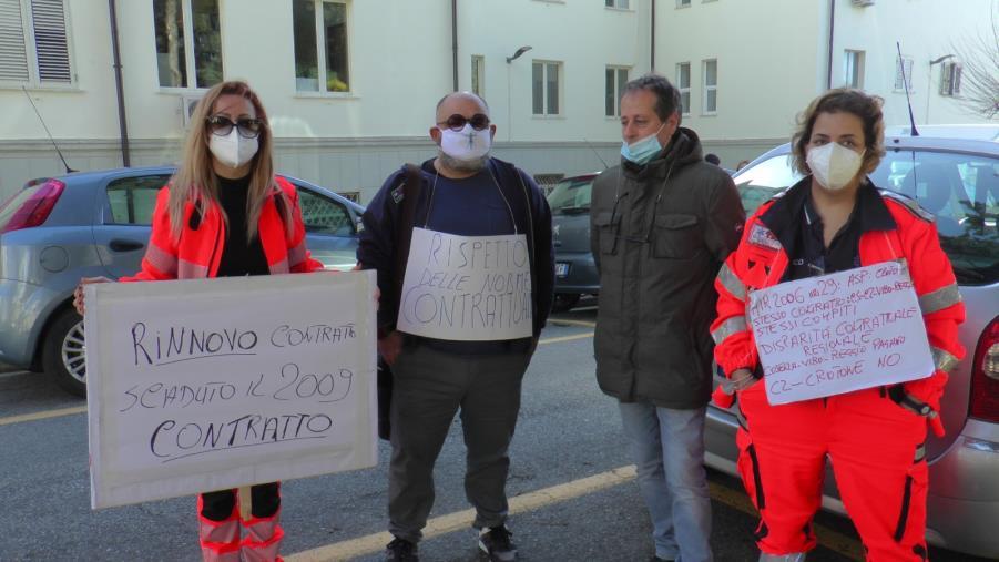 """images Caos servizio 118 a Catanzaro sulle indennità. Gli operatori: """"L'Asp rispetti la sua delibera"""""""