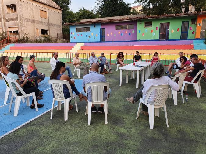 """images San Vito diventa la """"linea del Piave"""" della mobilitazione ambientalista: uniti per bloccare il Parco eolico (VIDEO)"""